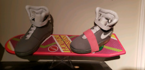 Back to the future  hoverboard and shoes