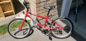 Children's BMX type bicycle