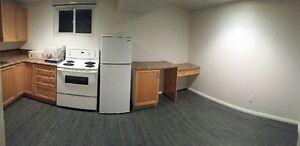 Avail Immed: 1 bedroom basement suite, Glenbrook SW.