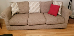 Couch and loveseat set.