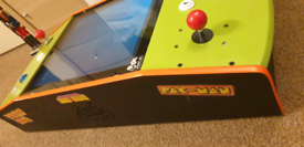 Arcade video table top machine