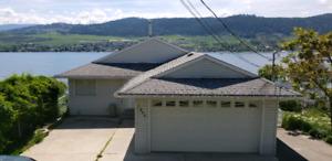 Top half of Okanagan Lake view home