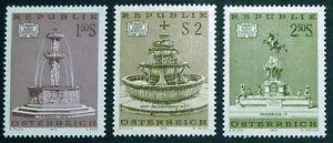 AUSTRIA 1972: FONTANE D'AUSTRIA NUOVI SERIE COMPLETA - Italia - AUSTRIA 1972: FONTANE D'AUSTRIA NUOVI SERIE COMPLETA - Italia