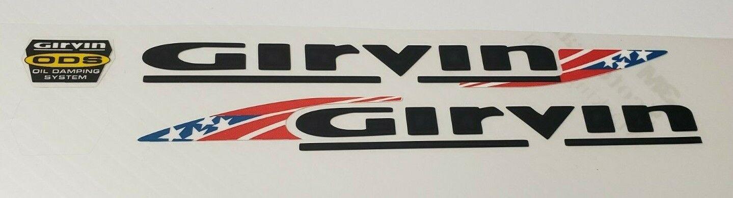 Sticker Decal Set for Girvin Vector Fork ONLY