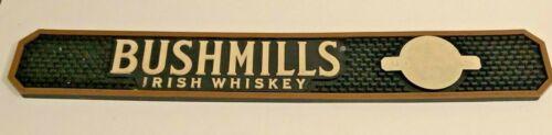 Bushmills Irish Whiskey Bar Pad Rail Spill Mat Distillery Beverage Collectable