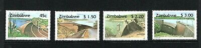1996 Zimbabwe dams set of 4 UM