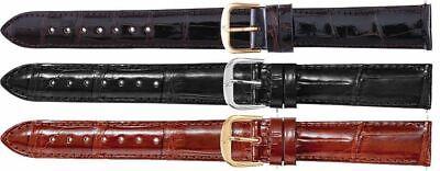 New Men's Regular Genuine Louisiana Alligator Leather Watch Strap - Genuine Louisiana Alligator Strap