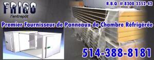 PANNEAUX DE CHAMBRE FROIDE