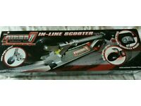 Nitro Inline Scooter. Lights and Sound effects. NEW in box