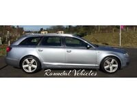 2006 55 plate Audi A6 Avant 3.0 Tdi QUATTRO S Line auto, full history, Aug Mot,Stunning luxury est !