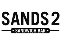 Counter Assistant required in Busy Sandwich Bar at the Lansdowne, Sands2