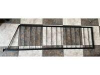 Ladderax Black Metal Ladder 14x52 inches Staples Shelving.