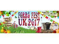 Volunteer at a Brazilian Dance Festival over August Bank Holiday!