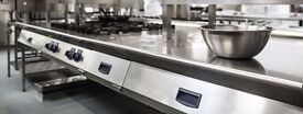 HUGE newly built commercial kitchen/manufucturing kitchen/central production kitchen