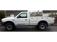 Ford Ranger 2.5 Diesel 4 x 4 Pick up 2 Door White