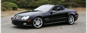 2007 Mercedes-Benz SL-Class SL550 -- AMG SPORTS PKG -- BLACK ON