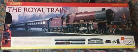 Hornby royal train set.