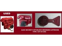 ALKO HITCH LOCK CARAVAN SECURITY HITCHLOCK INSURANCE APPROVED