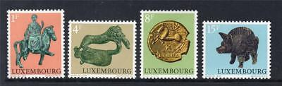 LUXEMBOURG MNH 1973 SG902-905 ARCHAEOLOGICAL RELICS