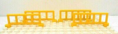Lego Duplo Item Rail Fence yellow (4)
