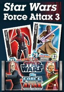 STAR WARS FORCE ATTAX SERIES 3 TRADING CARDS & STARTER PACKS