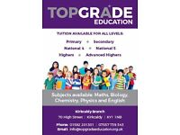 Tutor Vacancy - Top Grade Education Tuition Centre in Kirkcaldy