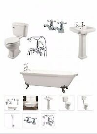 traditional single ended bath suite from as low as £649