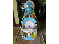 Baby Swinging Chair - Fisher Price Precious Planet