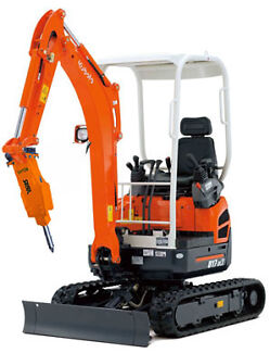 1.7 Tonne  Mini Excavator with ROCK BREAKER/HAMMER Berwick Casey Area Preview