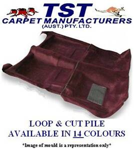 MOULDED CAR CARPET TO FIT HOLDEN GEMINI TE TF TG  FRONT & REAR