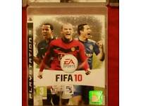 PS3 FIFA 10 GAME