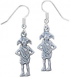 Official Dobby the House Elf Silver Plated Drop Earrings wdCNqYu