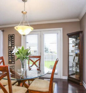 The top glass dining table London Ontario image 2