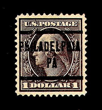 momen: US Stamps #342 Used PF Graded 90