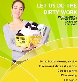 End of tenancy/ After build/domestic clean at your door step