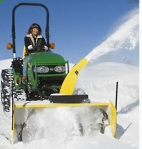"John Deere 54"" Quick Hitch Snow blower"