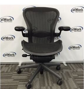 Reconditioned Herman Miller Aeron Chairs