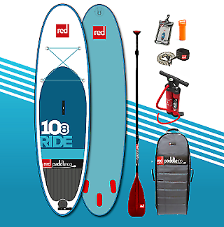 Red paddle 10'8 Inflatable SUP package