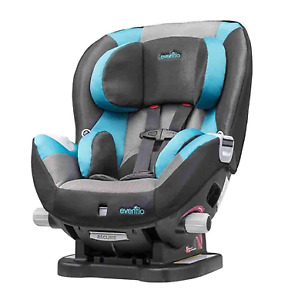 Evenflo Triumph LX Convertible blue Car Seat