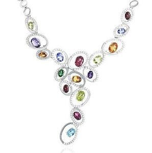 18CT WHITE GOLD INTENSE NECKLACE  BY GREGORY BROTHERS Bronte Eastern Suburbs Preview