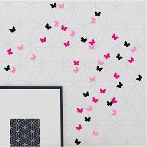 63 mariposas pegatinas de vinilo decoraci n de paredes 3 - Decoracion de paredes colores ...