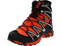 Size 11.5 Mens Salomon wings sky gore-tex trail walking boot