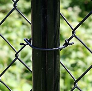 Chain Link Fence Ties - Black Peak Products 6382 50PCS per Pack