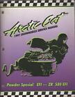Arctic Cat Service Manual