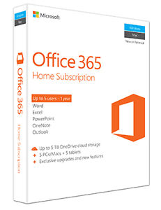 Office 365 Home Subscription - Sealed (50% off)