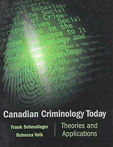 Canadian Criminology Today