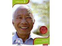 S/NVQ Level 3 Health & Social Care (Adults) book with CD