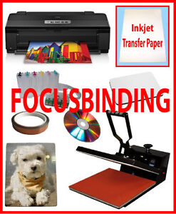 16x24 Heat Press,Epson Printer1430,CIS,Sublimation Heat Transfer