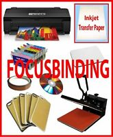 15x15 Heat Press,Epson 1430 Printer,Refil,Sublimation Phone Case
