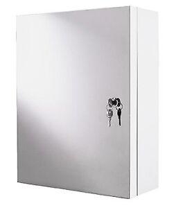 Ikea ATRAN armoire murale en métal avec serrure